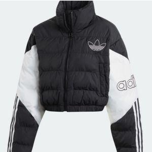 NWT Adidas Crop Puffer